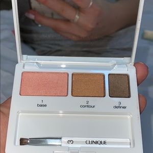 Clinique eyeshadow trio